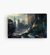 Crysis - New York Landscape Canvas Print