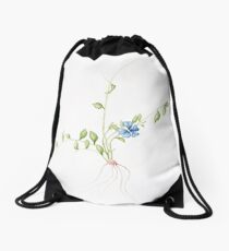 Periwinkle Drawstring Bag