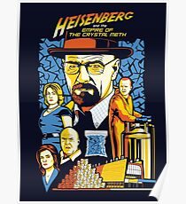 Heisenberg and the Empire of the Crystal Meth Poster