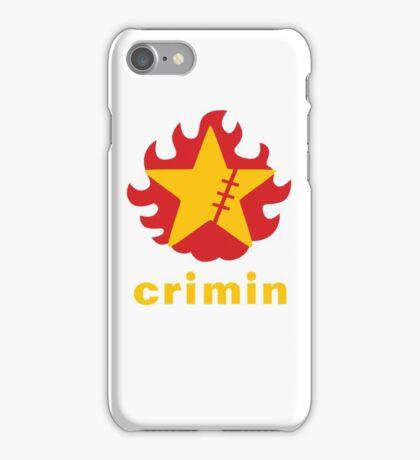Crimin Brand Fire Star iPhone Case/Skin