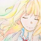 Kaori Miyazono Aquarell von genanne-art