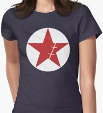 Zoro Crimin Star Women's Fitted T-Shirt
