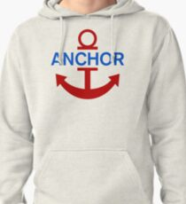 Luffy Anchor Pullover Hoodie