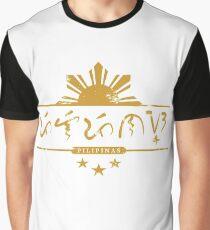 Pilipinas, Baybayin T-shirt and Prints Graphic T-Shirt