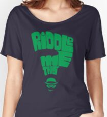 Riddle me this Women's Relaxed Fit T-Shirt