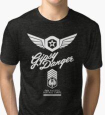 Gipsy Danger (White) Tri-blend T-Shirt