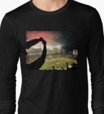 Football Night in Pittsburgh Long Sleeve T-Shirt