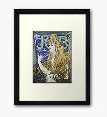 Alphonse Mucha - Job 1898  Framed Print