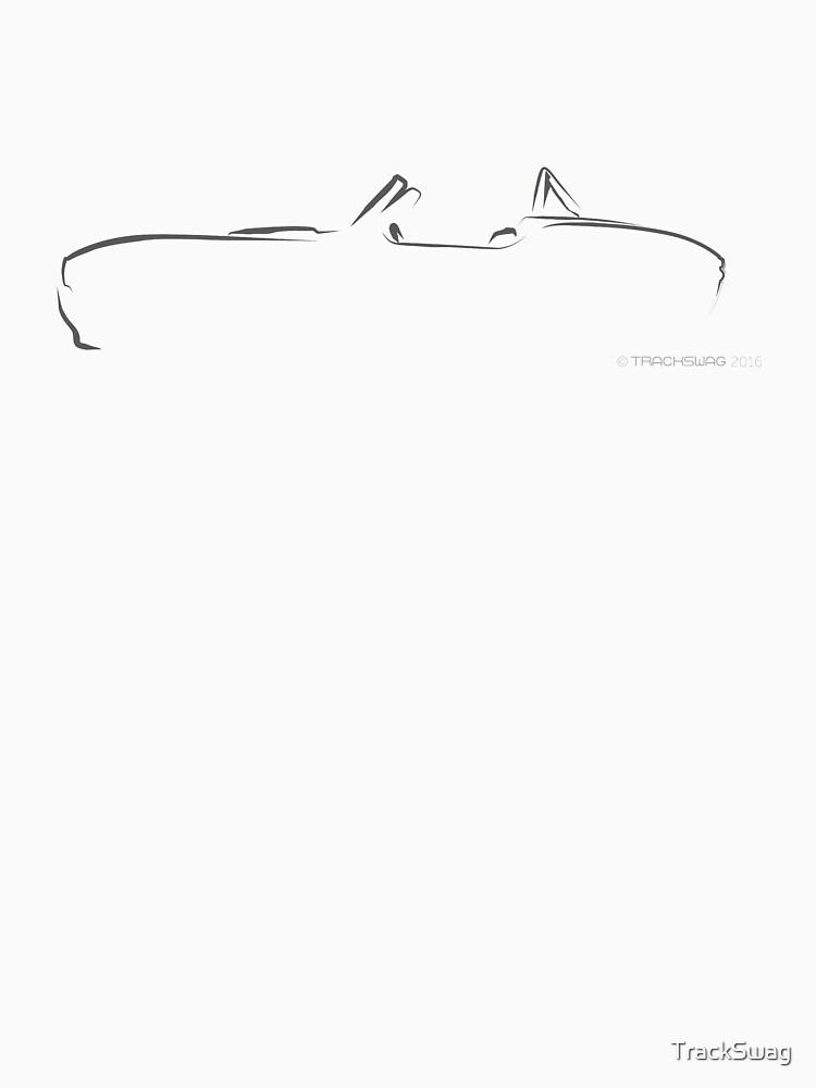 Profile Silhouette AC Cobra - black by TrackSwag