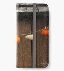 String of Pumpkins iPhone Wallet/Case/Skin