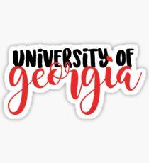 University of Georgia Sticker