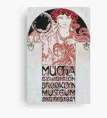 Alphonse Mucha - Mucha Exhibition Canvas Print