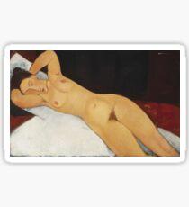 Amedeo Modigliani - Nude Sticker