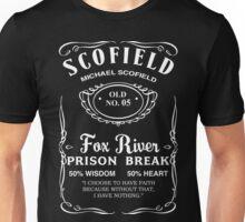 Michael Scofield Whiskey Unisex T-Shirt