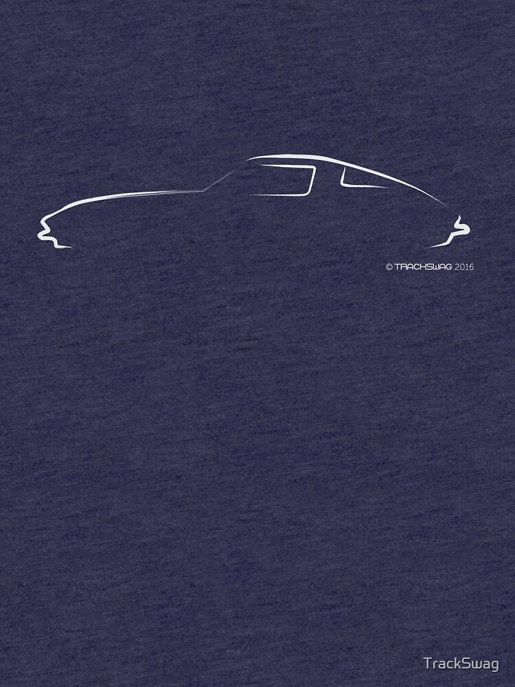 Profile Silhouette Stingray - white by TrackSwag
