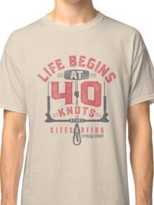 Kitesurfing 40 Knots Classic T-Shirt