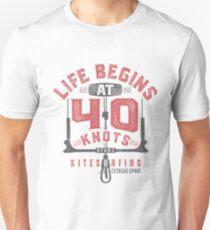 Kitesurfing 40 Knots Unisex T-Shirt