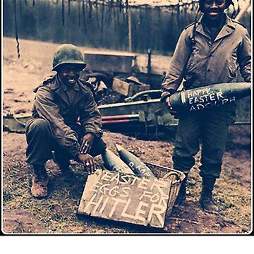 Happy Easter Hitler. Soldiers Vintage photo by Jonilargo