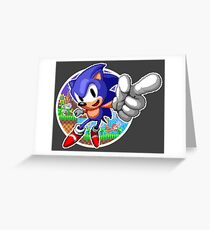 SONIC WINS Greeting Card