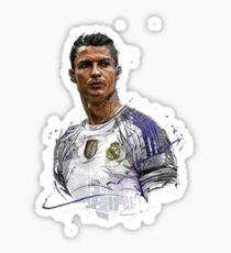 ronaldo art2 Sticker