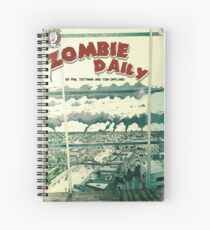 Zombie Daily - Vintage Series 1 Cover Spiral Notebook