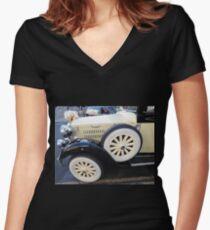 Eva Women's Fitted V-Neck T-Shirt