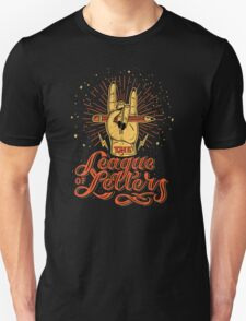 League of Letters Unisex T-Shirt