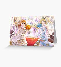 Love Live! School Idol Project - Blushing Brides Greeting Card