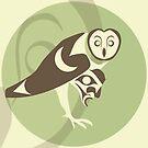 Barn owl by Mark Gauti