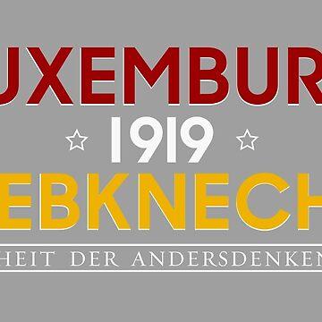 Luxemburg - Liebknecht 1919 by rosaluxemburg