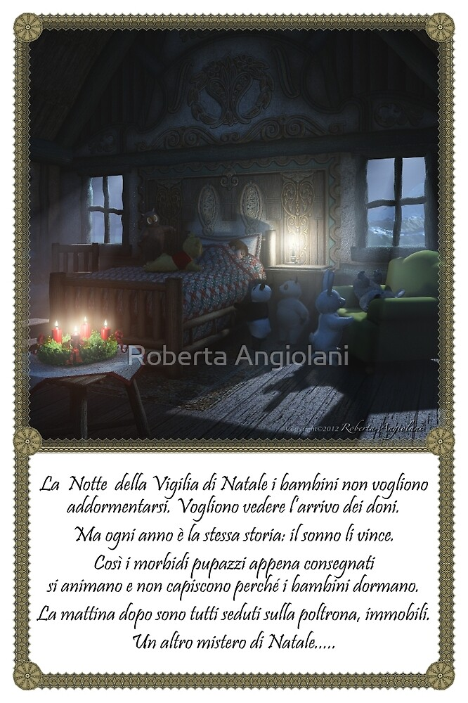 Another mystery of Christmas Eve (Italian version) by Roberta Angiolani