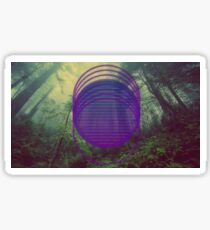 desolate forest  Sticker