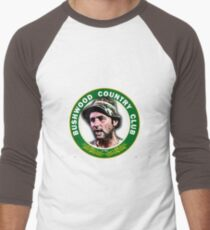 Hey Lama how bout a lil something for the effort Men's Baseball ¾ T-Shirt