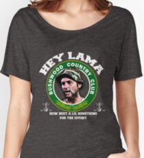 Hey Lama how bout a lil something for the effort Women's Relaxed Fit T-Shirt