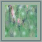 Green Ripple Fabric Design by Betty Mackey
