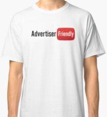 Advertiser Friendly | YouTube Shirt Classic T-Shirt