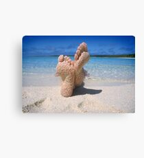 South Pacific Beach Canvas Print