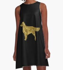 Golden retriever | Dogs A-Line Dress