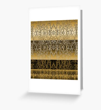 Evolving and Accepting Greeting Card
