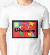 American Sign Language WELCOME Unisex T-Shirt