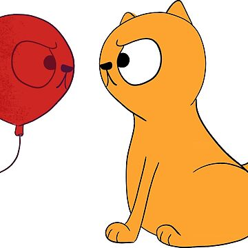 Catty Balloon by bethspencer123a