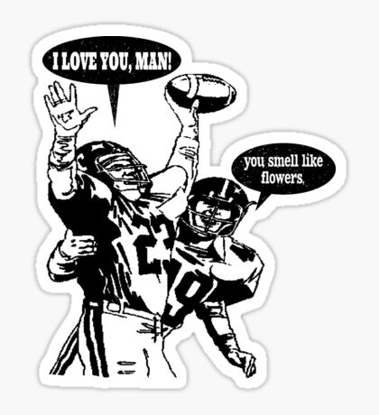 Touchdown Celebration Sticker