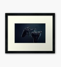 Hardcore Gamer PS4 Framed Print