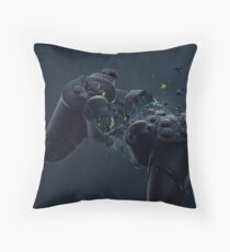 Hardcore Gamer PS4 Throw Pillow