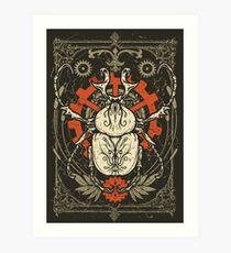 Doom Beetle 1 Art Print