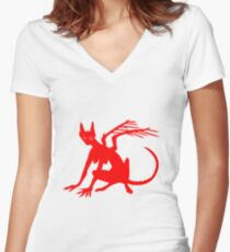 Sphinx Sphinx Women's Fitted V-Neck T-Shirt