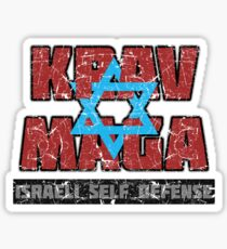 Israeli Krav Maga Magen David Sticker