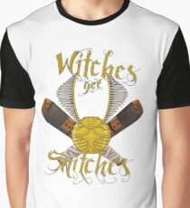 Witches get snitches Graphic T-Shirt