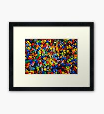 Dreaming in Legos Framed Print