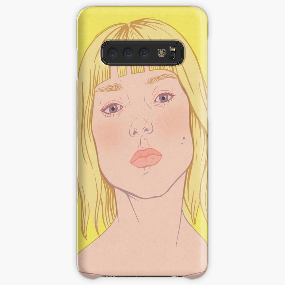 Lea- fashion illustration portrait Case & Skin for Samsung Galaxy